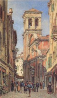 die kirche san giovanni in venedig by josef von arbesser