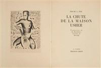 la chute de la maison usher (bk by edgar allen poe w/10 works, 8vo) by alexandre alexeieff
