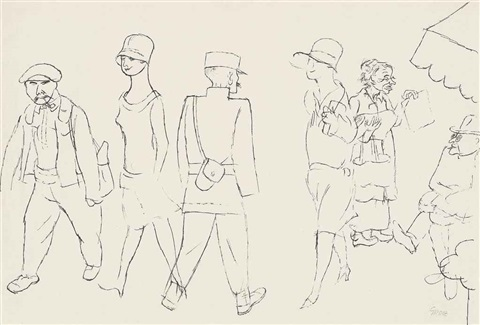 aus marseille by george grosz
