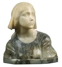 büste jeanne d'arc by guglielmo pugi