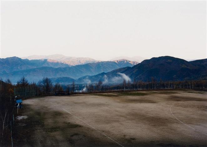 sonnenaufgang in den bergen bei kiso fukushima by thomas struth