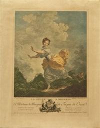 la fuite a dessein (after jean-honoré frgonart; collab. w/charles francois macret) by jacques couché