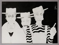 tres personajes by oscar gutman