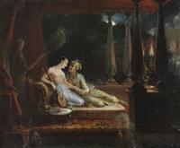 scène tirée des mille et une nuits by marie elénore godefroy