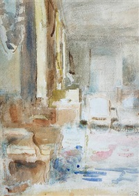 rushbrooke interior (sketch) by ambrose mcevoy