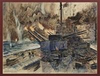 tirpitz en el mar del norte 1942 by joaquín martínez navarrete