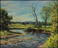 quebec pastoral scene by adam sherriff scott