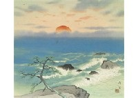 sunrise in the seaside by kibo kodama
