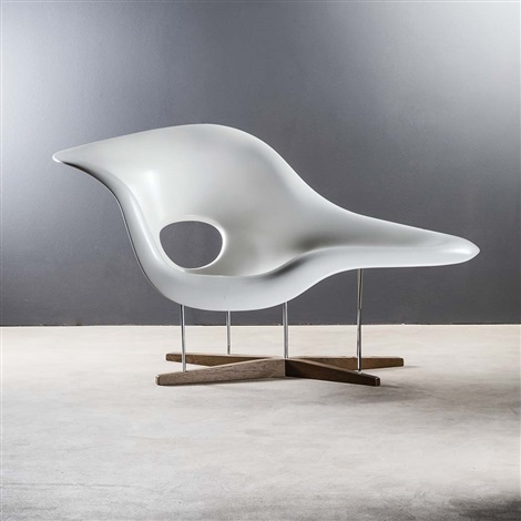 Cool La Chaise By Charles And Ray Eames On Artnet Ibusinesslaw Wood Chair Design Ideas Ibusinesslaworg