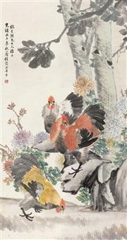 位列三公 (cocks) by ren xia