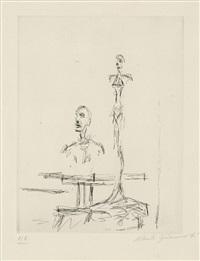 dans l'atelier (from paroles peintres) by alberto giacometti