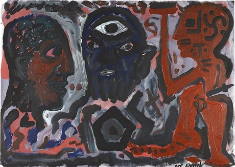 socrates by ar penck