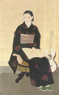 shokei (a short break) by hideharu morita