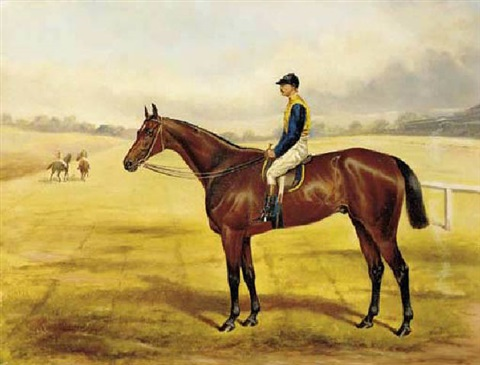 field marshall a bay racehorse with major eustace crawley up by john chester mathews