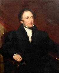 portrait of robert lukin by george clint