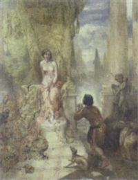 triumph of love by thomas woolner