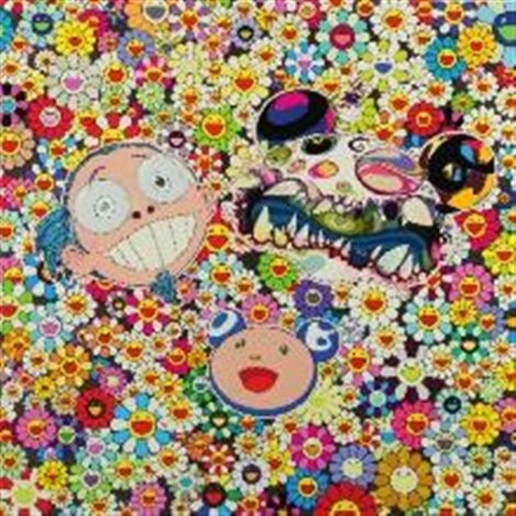 me and double dob by takashi murakami