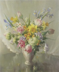 spring flowers by vernon ward