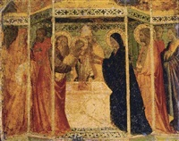 presentation of christ in the temple by agnolo di taddeo gaddi