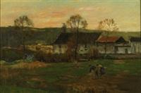 early autumn by joseph paul mesle