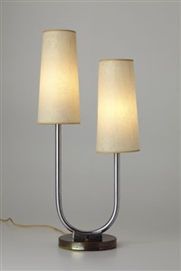 table lamp, model no. m1006 by kurt versen