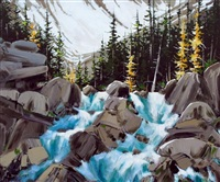 near the source (yoho national park) by allan dunfield