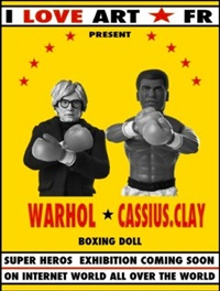 warhol vs. cassius clay by bruce meritte and govin sorel