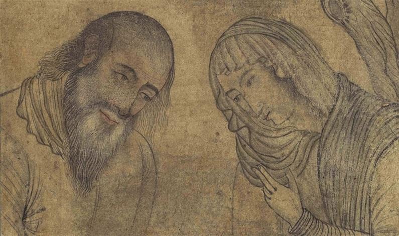 mary and joseph by reza i abbasi