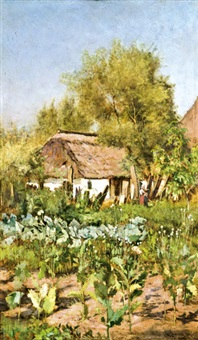 nyári veteményes kert by gyula aggházy