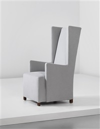 wingback armchair by uno åhren and björn trägårdh