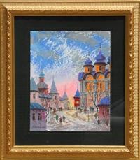 red sunset ii by anatole krasnyansky