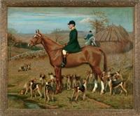 hunt scene by richard newton ii