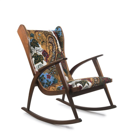 Strange Antimott Rocking Chair By Walter Knoll On Artnet Onthecornerstone Fun Painted Chair Ideas Images Onthecornerstoneorg