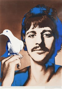 the beatles: the set of four psychedelic posters (4 works) by richard avedon
