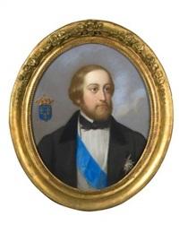 portrait du comte de chambord by théodore fantin-latour