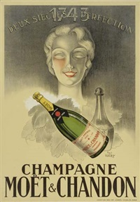 champagne - moet & chandon by paul igert