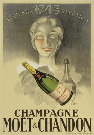 champagne moet chandon by paul igert