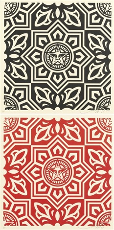 venice pattern 2 works by shepard fairey