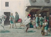 an egyptian courier by willem de famars testas