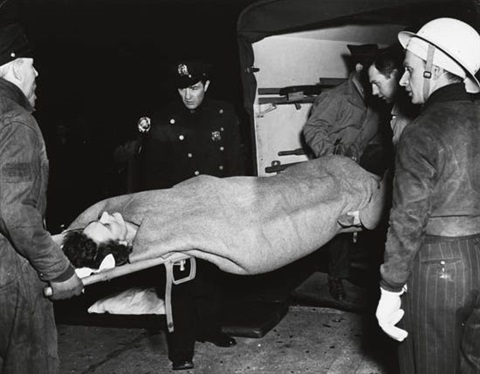 the human cop by weegee