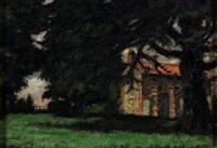 cascinale tra gli alberi by enrico allimandi
