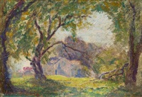 monet a giverny maison by albert auguste fourié