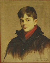 portrait of george r. dreher as a boy by alfred everett smith