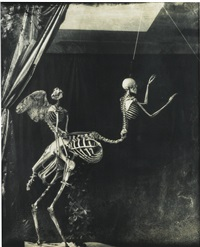 cupid and centaur in the museum of love by joel-peter witkin