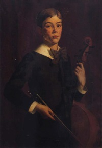 the young musician by charles foster