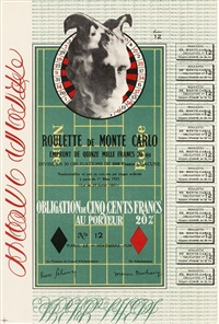 monte carlo bond by marcel duchamp