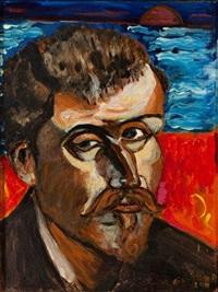 autoportrait de gauguin by giampiero pignatelli