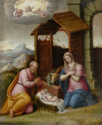 the nativity by camillo filippi