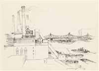 power station, new york by lawrence nelson wilbur