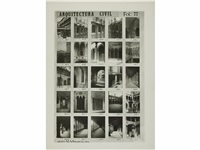 arquitectura civil (4 bks w/148 works) by mas arxiu